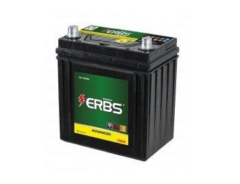 Bateria Erbs 40 Amperes (ah) Para Honda Fit De 2007 Até 2014, Com 12 Meses  De Garantia.